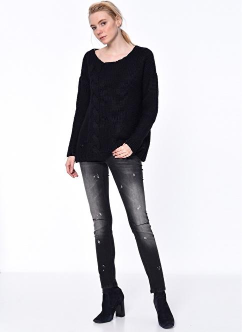 Mustang Jean Pantolon | Gina - Skinny Siyah